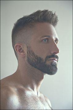 Mens Short Haircuts with Beards