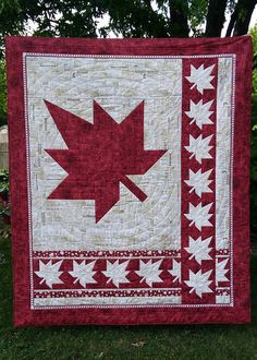 Canada 150 quilt, pattern by Canuck Quilter Designs