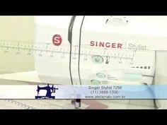 Demonstração Máquina Singer Stylist 7258 - YouTube