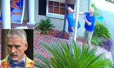 FLORIDA... Rep. Keith Perry caught on video slapping a man in the neck in a row over his campaign sign  | Daily Mail Online