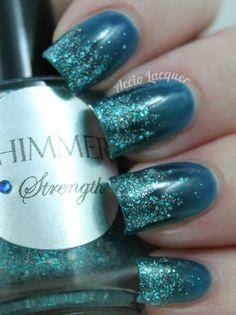 Shimmer Polish: Strength