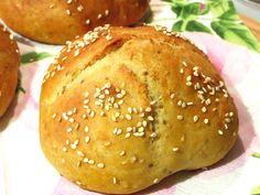 Rezepte mit Herz ♥: Schnelle Vollkorn - Quarkbrötchen mit Sesam und Chia
