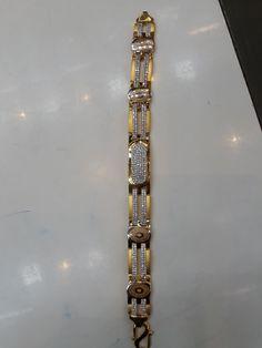 Gents Bracelet, Mens Diamond Bracelet, Mens Gold Bracelets, Mens Gold Jewelry, Hand Jewelry, Gold Bangles, Bridal Jewelry, Bangle Bracelets, Gold Rings