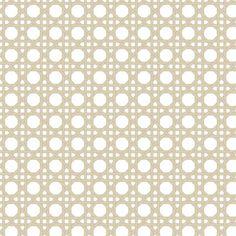 Cane Weave Beige Shelf Paper
