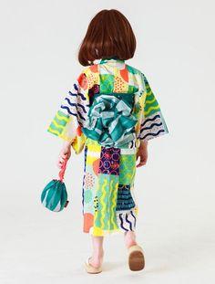 Sunny Landscape限定浴衣   スタイリング   après les cours(子供服のアプレ レ クール)公式サイト