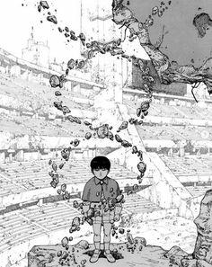 Manga Japan, Katsuhiro Otomo, Sci Fi Art, Character Illustration, Akira, Manhwa, Manga Anime, Otaku, Naruto