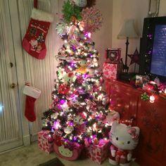 My Hello Kitty tree from 2015! By Burningcorazon!