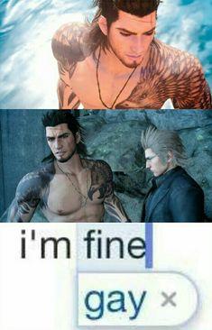 Final Fantasy XV / Gladiolus x Ignis / Gladnis / #ffxv