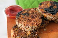 Sweet Potato Quinoa Cakes Recipe