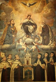Founding the Carmelites - Apparently the Discalced branch (mine) OCD (BVM, HS, Joseph, Elijah, Teresa, John...and the rest...*sung like in Gilligan's Island)