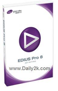 Edius Pro 8 Crack And Serial Keygen Free Full Download 2016 Update
