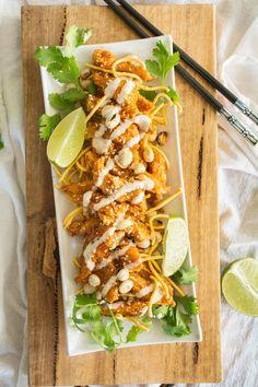 Szechuan Chicken Lettuce Wraps