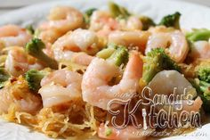 Sandy's Kitchen: Shrimp Lo Mein with Spaghetti Squash