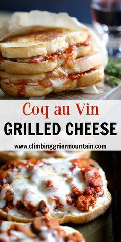 Grilled Coq Au Vin Recipe — Dishmaps