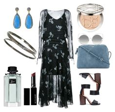 """""""boho blue"""" by andrarusea on Polyvore featuring BRIO, Preen, Givenchy, The Row, Marc Jacobs, Gucci, Witchery and Christian Dior"""