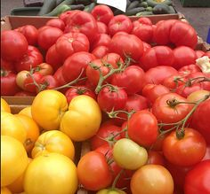 A cascade of tomatoes from Don's Produce. (West Main St.)