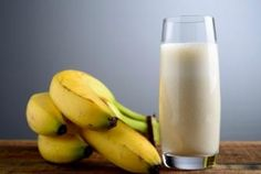 Honey and Banana Hangover Smoothie - maybe add some coconut water to it for hydrating electrolytes. One of the quickest ways of curing a hangover is to make a banana milkshake, sweetened with honey. The banana calms the stomach and, with the help of the honey, builds up depleted blood sugar levels, while the milk soothes and re-hydrates your system. - banana, coconut milk or water, honey