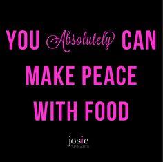 Just a friendly little reminder. binge eating, stop binge eating, emotional eating, motivation, inspiring quotes, intuitive eating, josie spinardi, hunger directed eating,