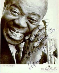 Louis Armstrong was born in 1900 and died in 1971. He was well-known for playing 2nd cornet in King Oliver band on early recordings from 1923. However, he left the band in 1924. His music from this time is traditional New Orleans style, polyphonic, emotional and denotative.
