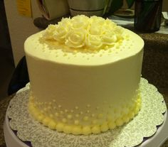 Looking for cake decorating project inspiration? Check out First Project by member CaliforniaJill.