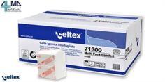 CELTEX CARTA IGIENICA INTERFOGLIATA 2 VELI 11X18 CM IN OFFERTA A 0,89€