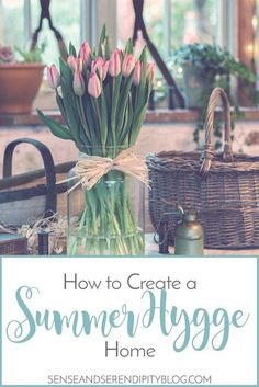 The Danish trend of Hygge is not just for cozy fall and winter decor. Here are some easy tips for creating a summer Hygge home. Cute Dorm Rooms, Cool Rooms, Konmari, Farmhouse Side Table, Farmhouse Decor, Farmhouse Lighting, Farmhouse Interior, Coastal Farmhouse, French Farmhouse