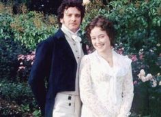 Jennifer Ehle Pride and Prejudice. I love their smiles. Everything was so serious with Darcy. Lizzy smiled all the time.