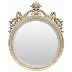 Alyson Polyurethane Framed Small Size Round Wall Mirror | Overstock.com Shopping…