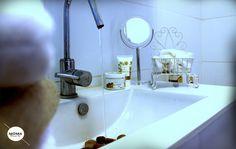 apartment in Haifa, bath room, sink, bath room cabinet
