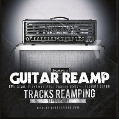 https://flic.kr/p/MGjJBF | ReAmp Randall | exproductions.bigcartel.com/product/guitar-track-reamp