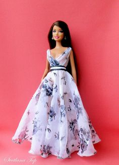 "Barbie 12/"" dolls Lupita Nyong/'o Vogue mini-magazine for FR"