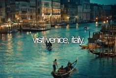 Visit beautiful Venice, Italy on summer bucket list Italy