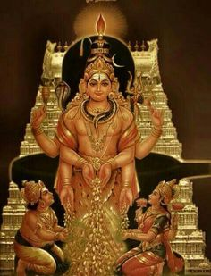 Bhagwan Kuber, Shri Dhanvantri, Ma Laxmi