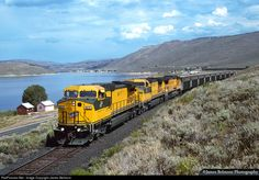 RailPictures.Net Photo: CNW 8617 Chicago & North Western Railroad GE C44-9W (Dash 9-44CW) at Scofield, Utah by James Belmont