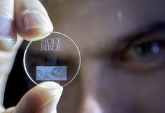 Szklany dysk przechowa nawet 360 TB informacji