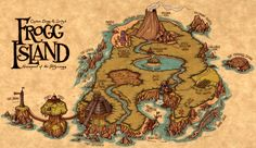 Frogg Island by Kennon9.deviantart.com on @deviantART