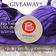 Bravado Nursing Bra Giveaway ~ Ends 12/25 - mama pure