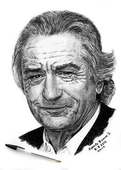 robert de niro by RobertoBizama on deviantART
