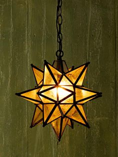 The seeded glass of this pendant softens the look of the bulb—and the light it emits. The 16-point frame's oil-rubbed-bronze finish adds a timeworn look. From @potterybarn