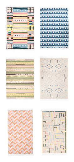 Oyyo. Don't typically like rugs but can totally go for these.