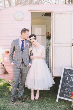 Dapper groom | Mad for Mod: A Retro-Inspired Styled Shoot