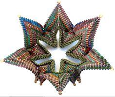 Susan Mattison Fortuneteller, Contemporary Geometric Beadwork 2012