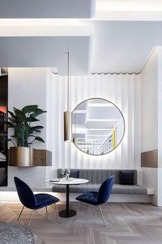 Espejo redondo decoración interiorismo interior design