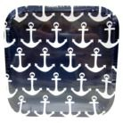 ANCHOR!! Paper plates!! I LOVE these. I bought these at Target! | everything anchor | Pinterest  sc 1 st  Pinterest & ANCHOR!! Paper plates!! I LOVE these. I bought these at Target ...