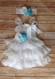 Frozen theme white and blue lace toddler by avamadisonboutique 35 00