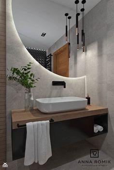 Washroom Design, Toilet Design, Bathroom Design Luxury, Modern Bathroom Design, Modern Bathroom Mirrors, Mirror Bathroom, Home Room Design, Home Interior Design, Bathroom Design Inspiration