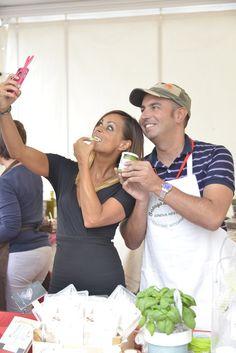 Solo pesto genovese dalla Bottega del Pesto...e Serena è assaggiatrice ufficiale!  (Ph. Foto Studio Azais)