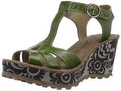 Fly London Women's GOLD Fashion Sandals Green Grün (Green 001) Size: 5 Fly London http://www.amazon.co.uk/dp/B00QI8D2JY/ref=cm_sw_r_pi_dp_5wGtvb0H5VD3T
