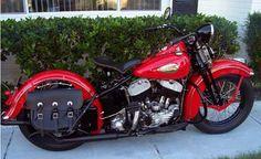 Photo of 1940 Harley Davidson UL Flathead Motorcycle by Hank.