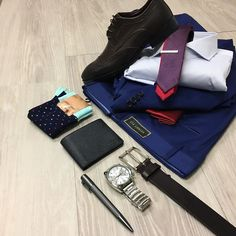 Details and the close up. (that politix tie is double sided - yep!) // Uber Stone blue slim suit (sold as separates) Hugo Boss shirt Politix tie Croft shoes Hugo Boss wallet and pen Diesel watch NEW Wolf Kanat socks.